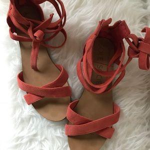 Sole Society Sana bow ankle sandal